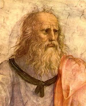 Platón según Rafael en La Escuela de Atenas