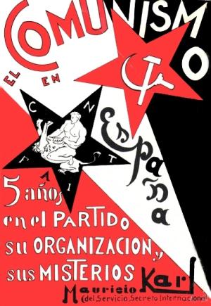Mauricio Karl, El comunismo en España, Madrid 1932 (cubierta de la primera edición)