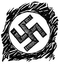 Dibujo de Saez en El Español, 26 de diciembre de 1942, número 9, página 4