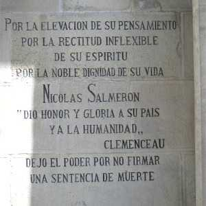 Monumento funerario de Nicolás Salmerón