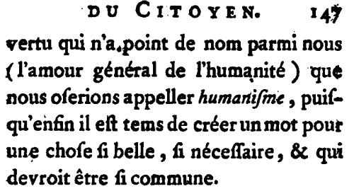 Humanismos Humanistas